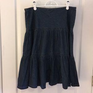 Dresses & Skirts - XL denim skirt